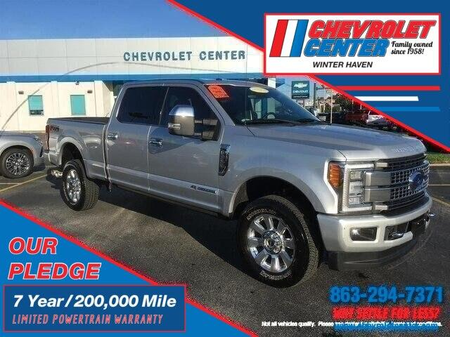 Pre-Owned 2017 Ford F-350 Platinum
