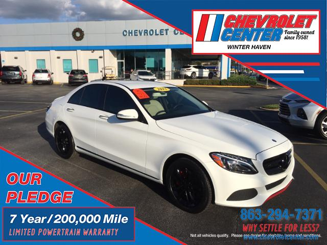 Pre-Owned 2015 Mercedes-Benz C 300 4DR SDN C300 4MAT
